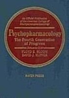 Psychopharmacology: the Fourth Generation of…
