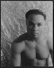 Author photo. Henry Armstrong, photographed by Carl Van Vechten, July 15, 1937 (Library of Congress Prints and Photographs Division, Van Vechten Collection, Digital ID: van 5a51659)