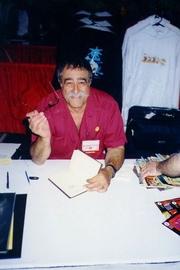 Author photo. 1998 San Diego ComicCon. (c) T. Hedden