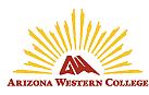 Author photo. Arizona Western College's school logo [source: Arizona Western College]