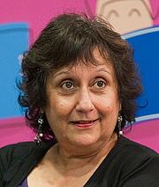 Author photo. Yasmin Alibhai-Brown. Photo by Photo by Simon Veit-Wilson   <a href=&quot;http://www.veit-wilson.co.uk&quot; rel=&quot;nofollow&quot; target=&quot;_top&quot;>http://www.veit-wilson.co.uk</a>