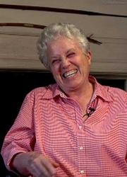 Author photo. Elizabeth Marshall Thomas - Photo by The Paula Gordon Show 2008