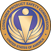 Author photo. Consumer Product Safety Commission seal