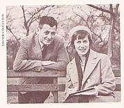 Author photo. Gene Zion on the Left