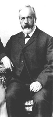 Author photo. Julius Wellhausen