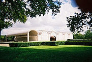 Author photo. Kimbell Art Museum, photo by Wikipedia user DBinfo