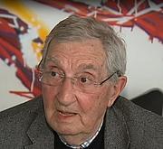 Author photo. Gérard Fayolle le 28 mai 2018 lors d'une interview télévisée