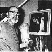 Author photo. Photo of Birgil Finlay, taken by Gerry de la Ree, July 23, 1969