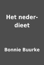 Het neder-dieet by Bonnie Buurke