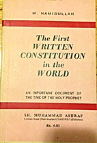 The First Written Constitution in the World…