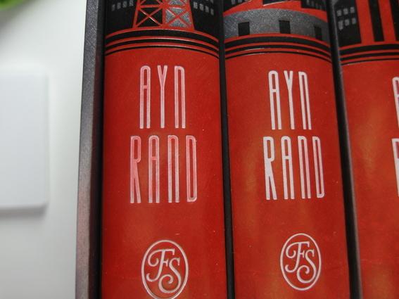Ayn Rand Atlas Shrugged Problem Folio Society Devotees