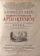 Gerardi L. B. Van Swieten ... Commentaria In…