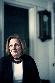 Author photo. Krystyna Chiger [Credit:Mark Veltman for NYT]