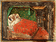 Author photo. Guillaume de Lorris and Jean de Meung, Roman de la Rose Place of origin, date: France; c. 1450. Added miniature: France; c. 1400-1425 Material: Vellum, ff. 138, 280x188 mm, French. Binding: 18th-century Decoration: 1 miniature Provenance: Acquired in 1807 with the collection of J. Romswinckel By Unknown - Guillaume de Lorris and Jean de Meung, Roman de la Rose, Public Domain, <a href=&quot;https://commons.wikimedia.org/w/index.php?curid=7686820&quot; rel=&quot;nofollow&quot; target=&quot;_top&quot;>https://commons.wikimedia.org/w/index.php?curid=7686820</a>