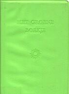 Het groene boekje : antwoord aan Mao…