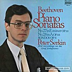 PETER SERKIN BEETHOVEN PIANO SONATAS 27 & 28…