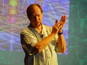 """Author photo. Vogler lectures in Tel Aviv (2014) By Etan J. Tal - Own work, CC BY-SA 3.0, <a href=""""//commons.wikimedia.org/w/index.php?curid=36364577"""" rel=""""nofollow"""" target=""""_top"""">https://commons.wikimedia.org/w/index.php?curid=36364577</a>"""