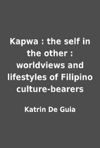 Kapwa : the self in the other : worldviews…