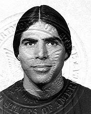 Author photo. Andrew Raymond in 1974