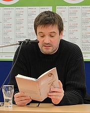 Author photo. Markus Orths, in Frankfurt am Main, on October 14, 2009. Creator: Dontworry (<a href=&quot;http://commons.wikimedia.org/wiki/User:Dontworry&quot; rel=&quot;nofollow&quot; target=&quot;_top&quot;>http://commons.wikimedia.org/wiki/User:Dontworry</a>)