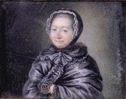Author photo. Portrait anonyme peint sur ivoire, XVIIIe siècle. Collection particulière. Photo M. Urtado.