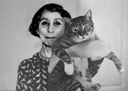 Author photo. Stella Kramrisch (and cat). Photo from <a href=&quot;http://heritage-india.com/publications/volume-5/issue-3-august-2012/&quot; rel=&quot;nofollow&quot; target=&quot;_top&quot;><i>Heritage India</i></a>.