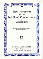 Slow Movement of the left Hand Concertante…