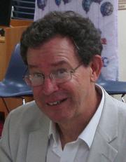 Author photo. David McKnight. Photo courtesy of Mosman Library.