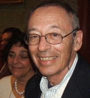 Author photo. Barney Glaser 75th birthday with wife Carolyn