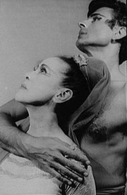 Author photo. Martha Graham and Bertram Ross, 1961 <br>(Credit: Carl Van Vechten)<br> (Carl Van Vechten Photographs,<br> LoC Prints and Photographs Division, <br>LC-USZ62-116601)