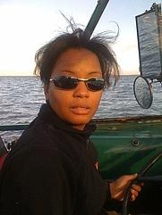 Author photo. T.R. Jones at sea.