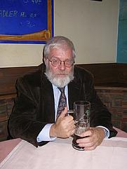 Author photo. Horst Enzensberger
