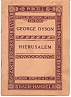 Hierusalem : Hymn for soprano solo, chorus…