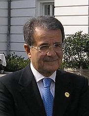 Author photo. Romano Prodi at the G8 summit in Heiligendamm.   Photo by user Gryffindor / Wikimedia Commons.