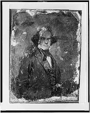 Author photo. Daguerreotype collection (Library of Congress)