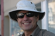 Author photo. Bryan Costales in his tilley hat and Maui Jim sunglasses
