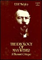 The ideology of Max Weber : a Thomist…