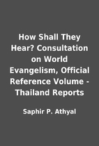 How Shall They Hear? Consultation on World…