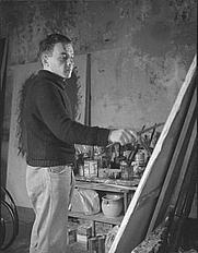 Author photo. Arnulf Rainer (circa 1960) / photo by Elfriede Mejchar / Photo © <a href=&quot;http://www.bildarchivaustria.at&quot;>ÖNB/Wien</a>