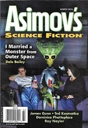Asimov's Mar 2016 cover