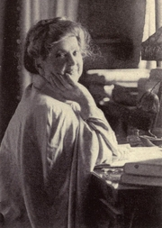 Author photo. Image from <b><i>Theosophy: the path of the mystic</i></b> (1922) by Katherine Augusta Westcott Tingley