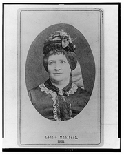 Author photo. c1860-1870, Library of Congress