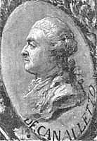 Author photo. Portrait of Bernardo Bellotto, 1779, by Marcello Bacciarelli, detail from Bellotto's The Entrance of Polish Ambassador Jerzy Ossolinski into Rome The National Museum in Wroclaw