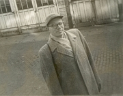 Author photo. Carl W. Condit in Evanston, Illinois, 1952 [credit: Steven C. Condit]
