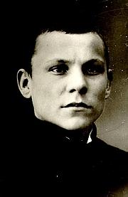 Author photo. Albert Kivikas, ca. 1916.