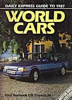 WORLD CARS 1987