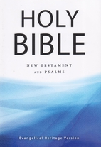 The Holy Bible : New Testament and Psalms,…