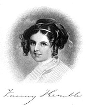 "Author photo. From ""Records of a Girlhood"" by Frances Anne Kemble"
