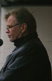 Author photo. Einar Már Guðmundsson