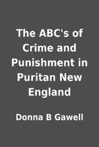 The ABC's of Crime and Punishment in…